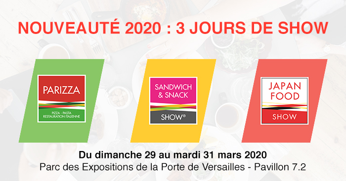 Salon 2020 - Paris Food, Snack